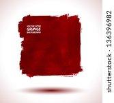 grunge background business... | Shutterstock .eps vector #136396982