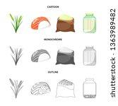 vector design of crop and... | Shutterstock .eps vector #1363989482