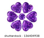 amethyst  high resolution 3d... | Shutterstock . vector #136404938