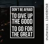 inspirational quotes and... | Shutterstock . vector #1364080568