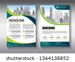business abstract vector... | Shutterstock .eps vector #1364138852
