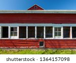 A Side Barn Attached To The...