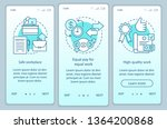 work ethics onboarding mobile... | Shutterstock .eps vector #1364200868