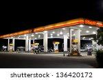 jacksonville  fl april 7  shell ... | Shutterstock . vector #136420172