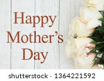 happy mother's day greeting... | Shutterstock . vector #1364221592