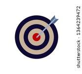 bow  center  focus  target icon....   Shutterstock .eps vector #1364239472