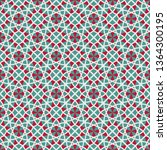 seamless texture with arabic... | Shutterstock . vector #1364300195
