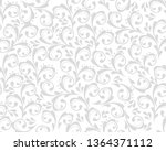 beautiful damask pattern. royal ...   Shutterstock .eps vector #1364371112