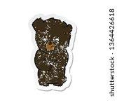 retro distressed sticker of a... | Shutterstock . vector #1364426618
