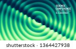 3d wavy background with ripple... | Shutterstock .eps vector #1364427938