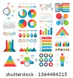 set of infographic elements... | Shutterstock .eps vector #1364484215