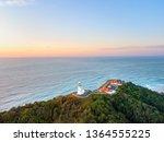 byron bay lighthouse at sunrise ... | Shutterstock . vector #1364555225