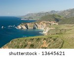bir sur coastline in california | Shutterstock . vector #13645621