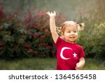 portrait of happy little kid ... | Shutterstock . vector #1364565458