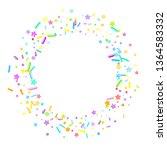 sprinkles grainy. cupcake... | Shutterstock .eps vector #1364583332