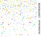 sprinkles grainy. cupcake...   Shutterstock .eps vector #1364583638