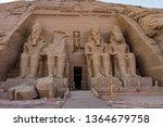 Facade Of The Rock Cut Temple...
