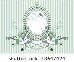rose frame | Shutterstock .eps vector #13647424