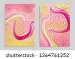 abstract cover template with... | Shutterstock .eps vector #1364761352