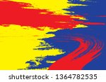 primary colors background  blue ... | Shutterstock .eps vector #1364782535
