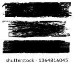 grunge paint roller . vector...   Shutterstock .eps vector #1364816045