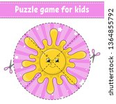 puzzle game for kids .... | Shutterstock .eps vector #1364855792