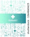 pharmacy and medical banner... | Shutterstock .eps vector #1364860625