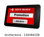 search for promotion | Shutterstock . vector #136486238