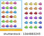 educational children game ...   Shutterstock .eps vector #1364883245