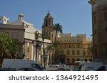 facade of the church of...   Shutterstock . vector #1364921495