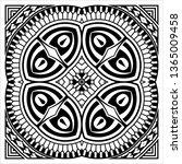 tribal tattoo design creative...   Shutterstock .eps vector #1365009458