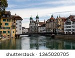 luzern  switzerland   march 31... | Shutterstock . vector #1365020705