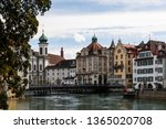 luzern  switzerland   march 31... | Shutterstock . vector #1365020708