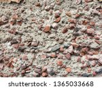 old destroyed concrete wall... | Shutterstock . vector #1365033668
