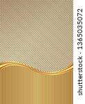 abstract golden textured... | Shutterstock .eps vector #1365035072