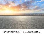 shanghai city skyline and... | Shutterstock . vector #1365053852