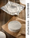 French Soft Camembert Cheese On ...