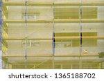 building facade renovation  old ... | Shutterstock . vector #1365188702