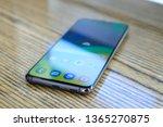 riga  april 2019   recently... | Shutterstock . vector #1365270875