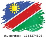 flag of namibia  republic of... | Shutterstock .eps vector #1365274808
