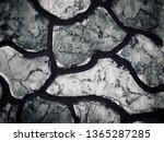 ground broken wall cracker... | Shutterstock . vector #1365287285