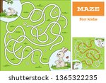 funny cartoon game for kids.... | Shutterstock .eps vector #1365322235
