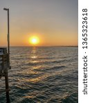 sunset from the pier   Shutterstock . vector #1365323618