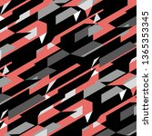 Seamless Bold Diagonal Abstrac...