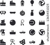 solid vector icon set   cake...   Shutterstock .eps vector #1365451025