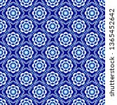 portuguese pattern.azulejos...   Shutterstock .eps vector #1365452642