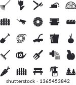 solid vector icon set  ...   Shutterstock .eps vector #1365453842