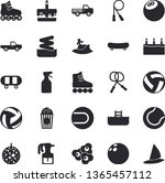 solid vector icon set   cake...   Shutterstock .eps vector #1365457112