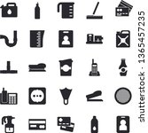 solid vector icon set   pipes...   Shutterstock .eps vector #1365457235