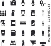 solid vector icon set   spice...   Shutterstock .eps vector #1365457265